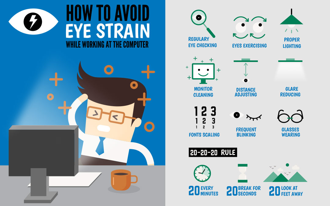 Work in IT? Here are Top 10 Ways to Prevent Eyestrain for Programmers